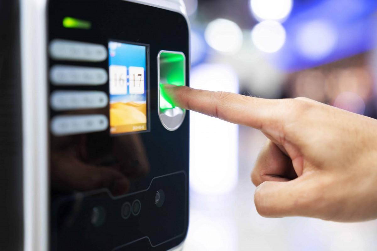 controle acces empreintes digitales