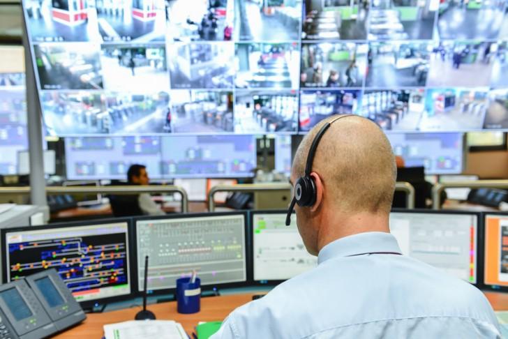 surveillance distance station controle